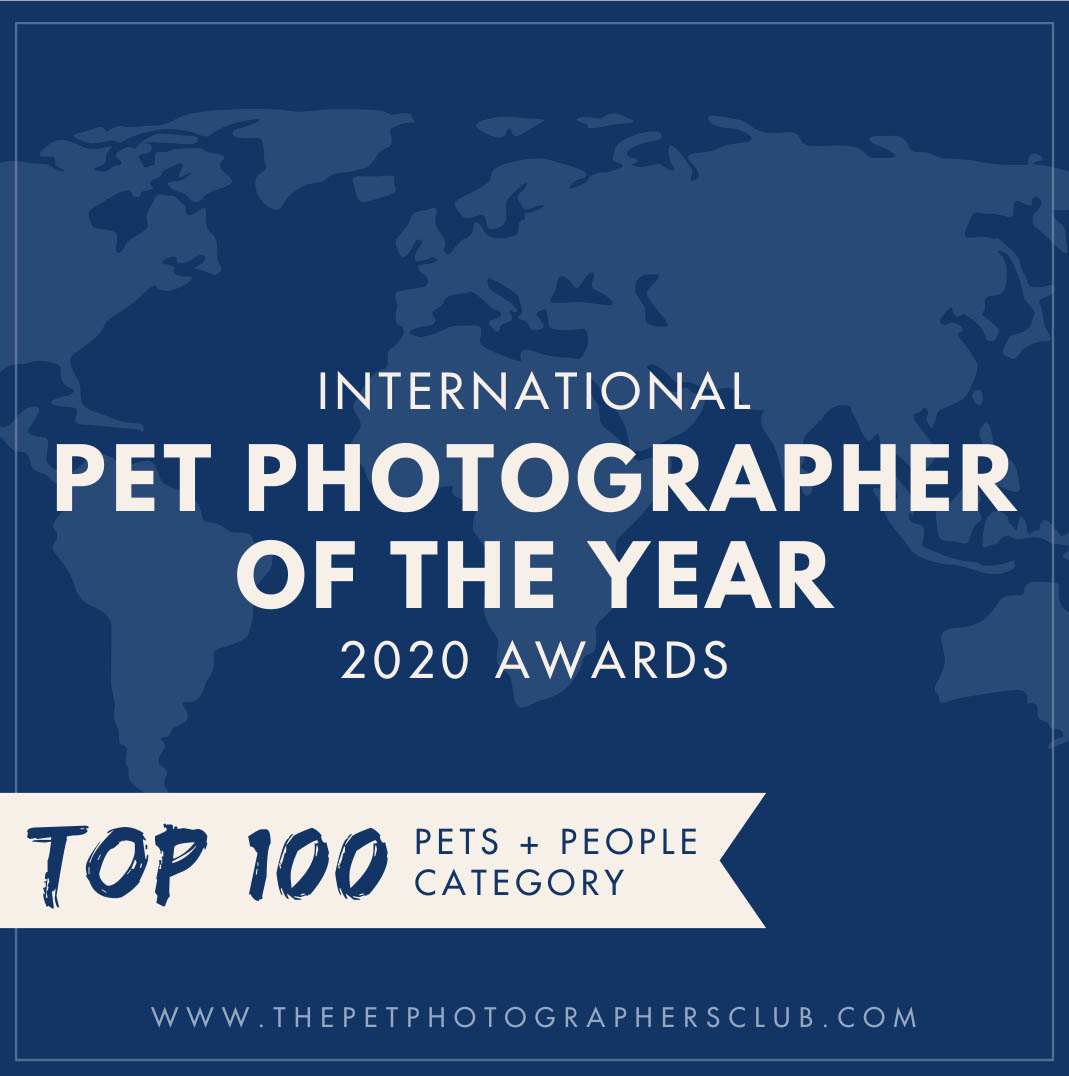 Pet Photographer of the Year 2020 Pets and their People categorie